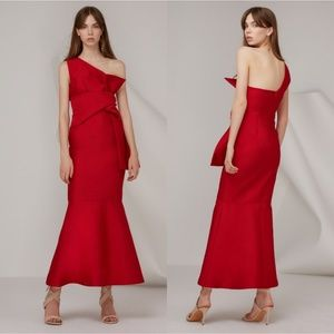 Keepsake the Label Retrograde Gown in Scarlett Red